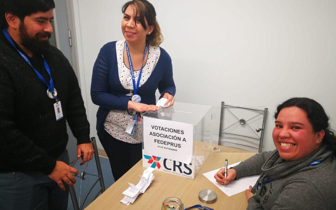Base Aprus CRS Hospital de Provincia de Cordillera se suma a Fedeprus Metropolitana